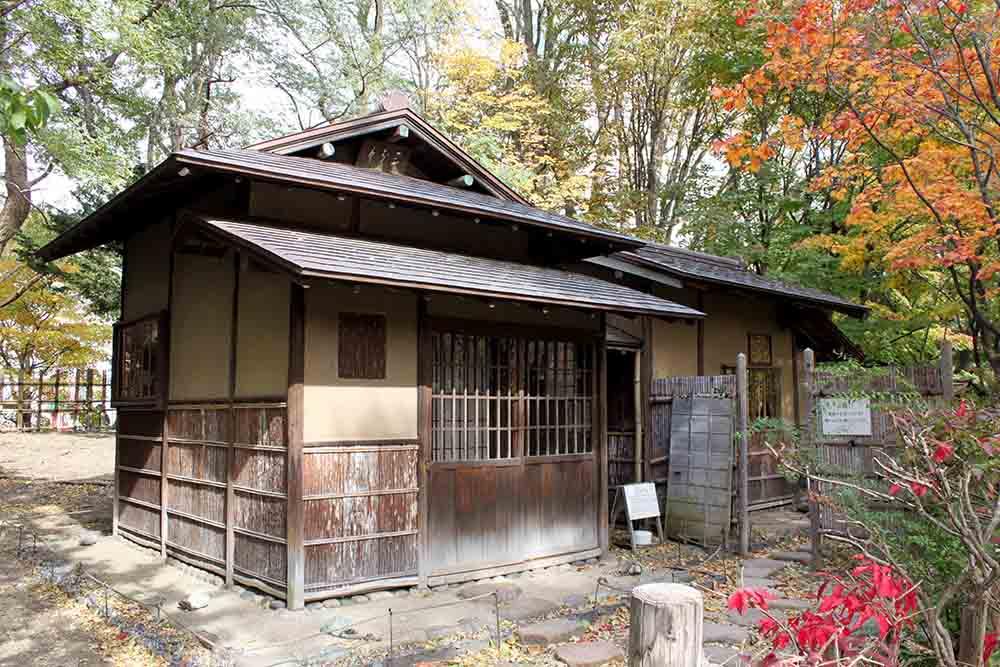札幌中島公園の八窓庵