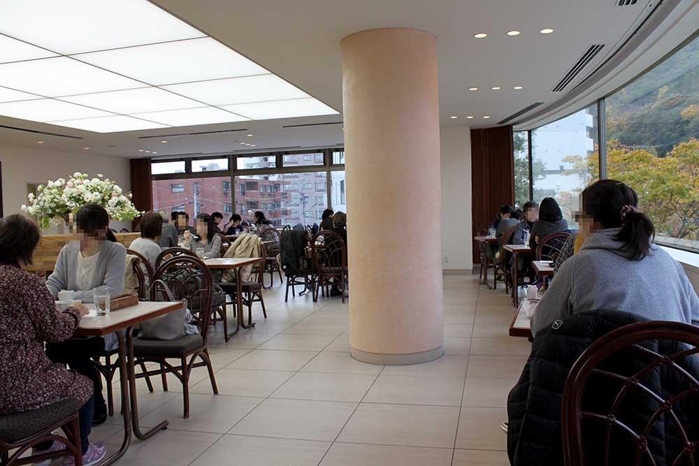 六花亭:札幌円山公園店の喫茶室