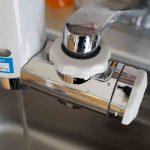 健康な食生活のために水を変えた:浄水器クリンスイMD101の取り付け/水栓Cセットの場合