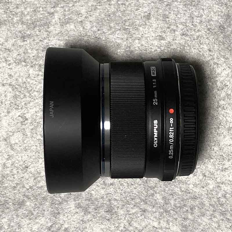 OLYMPUS単焦点25mm