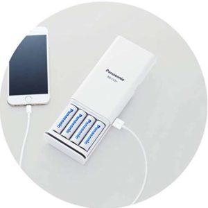 乾電池式USB機器充電器
